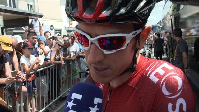 Thomas: Alaphilippe win 'put a downer' on time trial