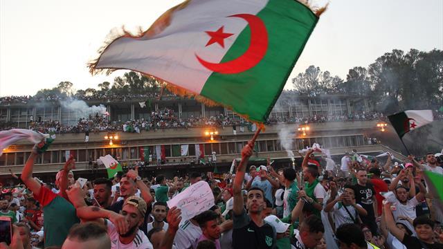 Scènes de liesse à Alger pour le retour des champions d'Afrique — CAN