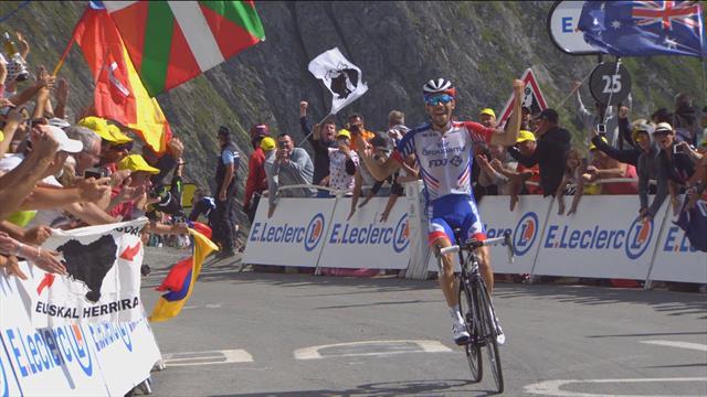 Пино изящно сделал конкурентов на финише королевского этапа Пиренеев