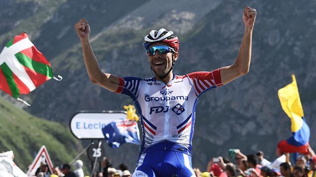 Pinot vince sul Tourmalet! Alaphilippe 2° e guadagna ancora su Geraint Thomas