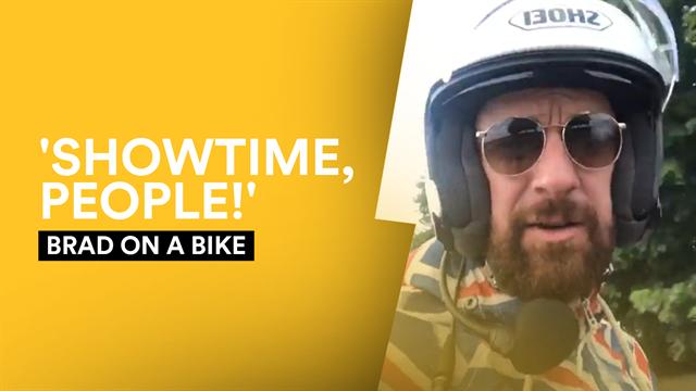 Brad on a Bike: Dreams end on Stage 14