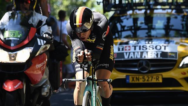 Van Aert set for two-month lay-off after Tour de France TT crash