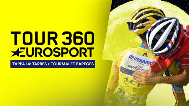 """Tour 360"", tappa 14: Thibaut Pinot sul Tourmalet, Julian Alaphilippe sulla Luna e Geraint Thomas?"