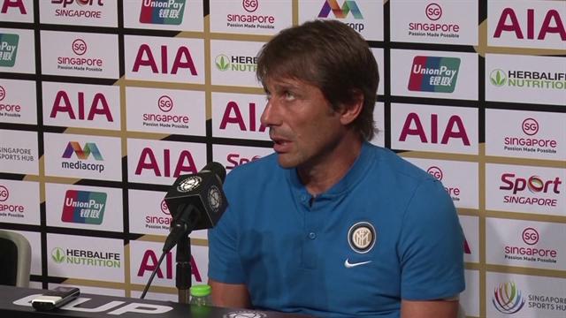 """Conte: """"Lukaku? Ci spero, potrebbe migliorare la nostra squadra"""""""