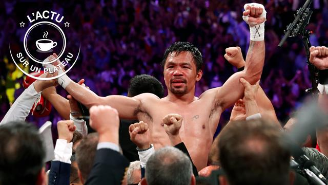 Welters. Pacquiao prend la ceinture WBA