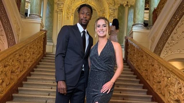 Свитолина и Монфис устроили свидание в Одесском оперном театре