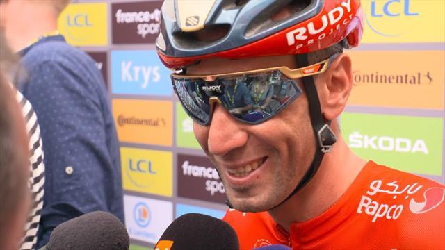 """Nibali: """"Guardo alla prossima settimana. Alaphilippe? Secondo me può vincere il Tour"""""""