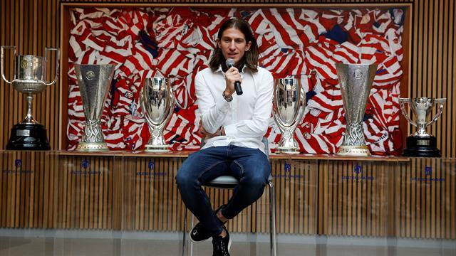 """Filipe Luis: """"Me voy con la conciencia tranquila del Atlético. Lo he dado todo"""""""