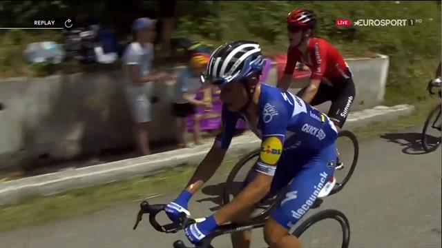 Tour de Francia 2019: Enric Mas, con problemas gástricos, se quedó en la subida a  Port de Lers