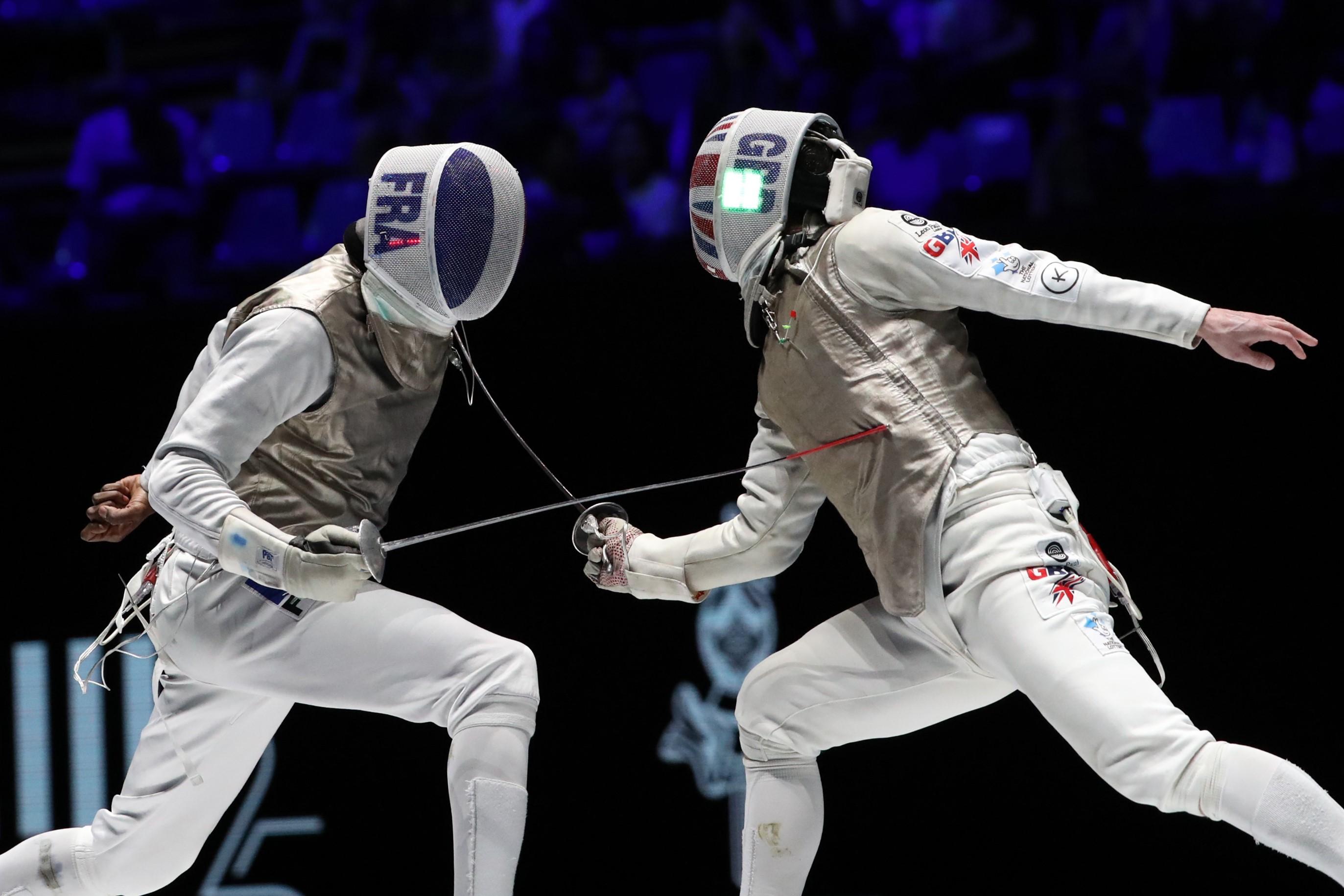 Marcus Mepstead & Enzo Lefort (2019 Eskrim Dünya Şampiyonası)