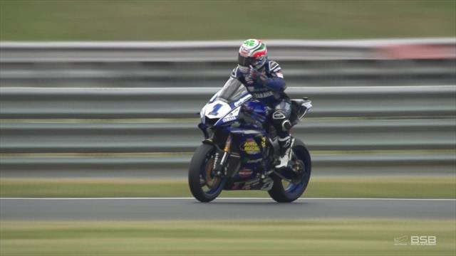 Watch Kennedy take Supersport win at Snetterton