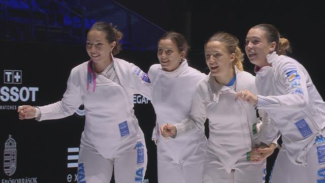 Medaglia di bronzo mondiale per l'Italia: Fiamingo & Co. battono l'Ucraina