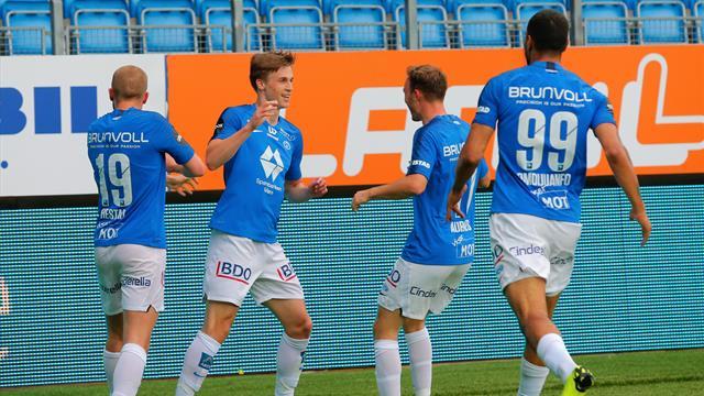Molde vant mot Sarpsborg 08 etter keepertabbe