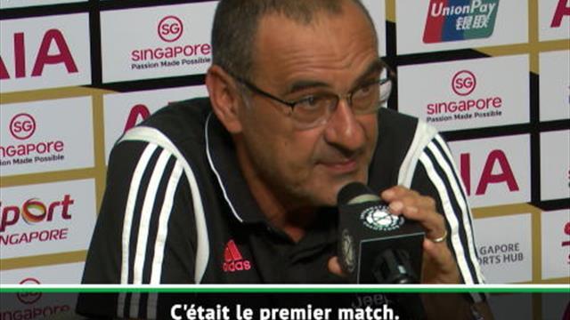 "Juventus - Sarri : ""Ronaldo, c'est le meilleur"""