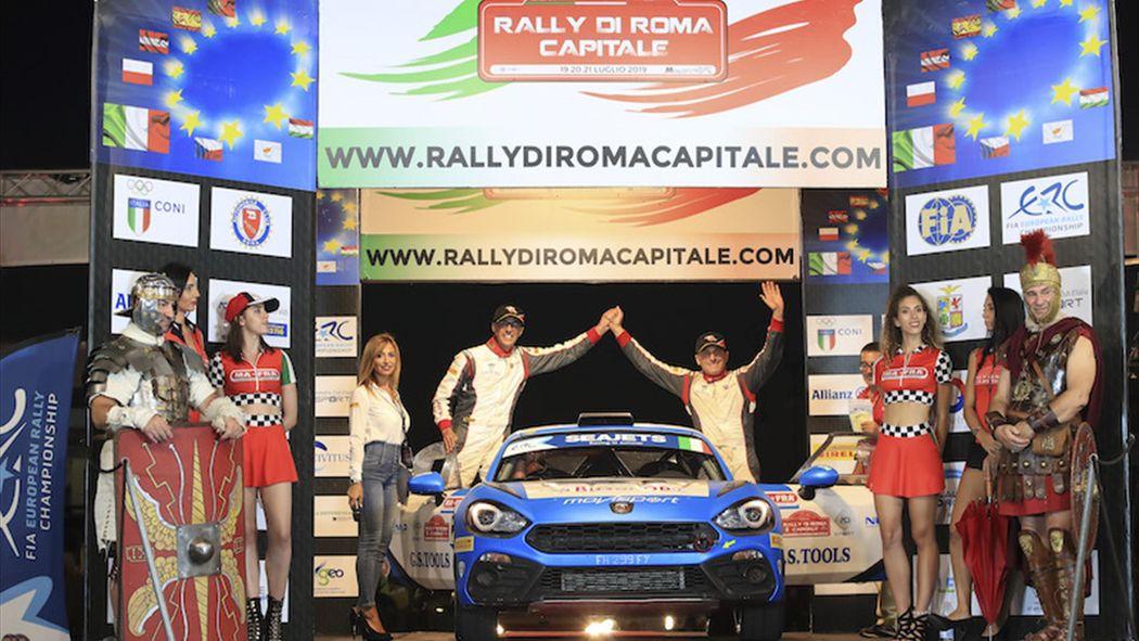 Calendario Rally Sicilia 2020.Melegari Balza Al Comando Dell Erc2 Con La Abarth Erc