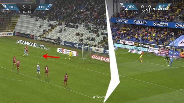 Målmands-assist og håndbold-mål præger anden runde af 3F Superligaen! Se dem alle lige her.