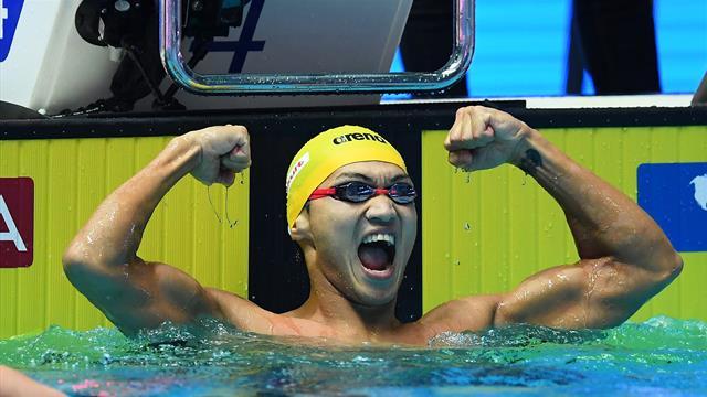 Xu Jiayu reste le roi du 100m dos
