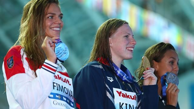 Ефимова завоевала серебро на 100 м брассом на ЧМ