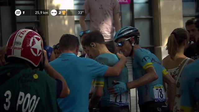 Bitter! Nächster Crash zwingt Fuglsang zur Tour-Aufgabe