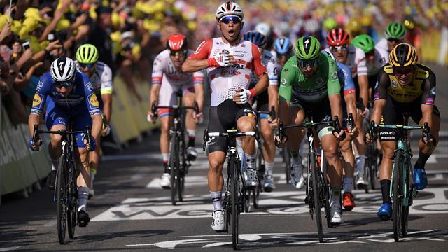 Le boss du sprint, c'est Ewan : Sa victoire lors de la 16e étape
