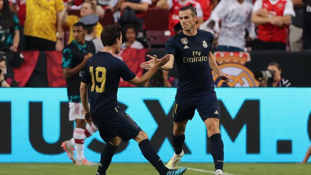 Super-sub Bale sparks Real Madrid comeback against Arsenal
