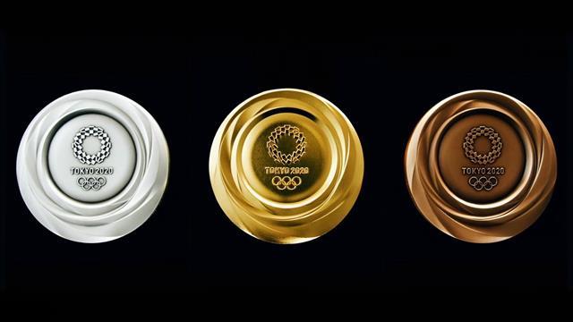 Für Olympia 2020: So sehen die neuen Medaillen aus Edelschrott aus