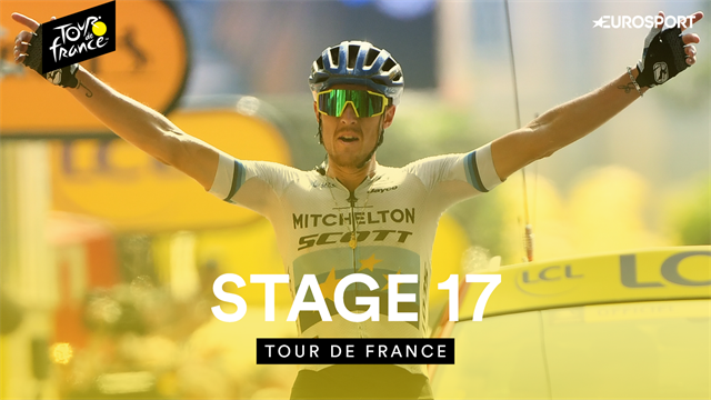 Stage 17 highlights as Trentin cruises to victory, Martin gets angry