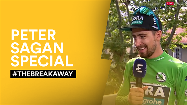 #TheBreakaway - Hilarious Peter Sagan has Bradley Wiggins and Orla Chennaoui in stitches
