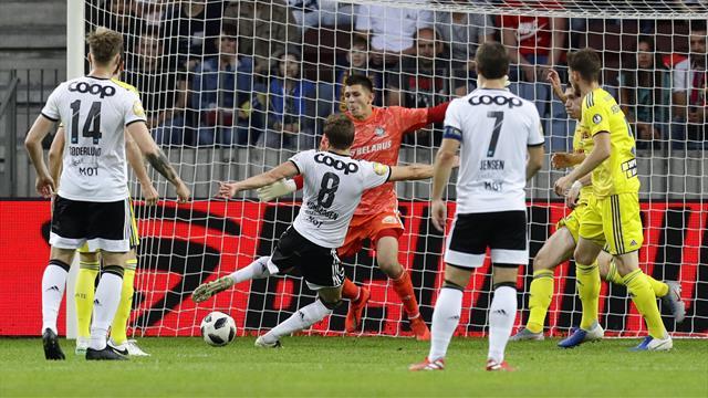 Brennhet Konradsen scoret på egen assist da BATE straffet RBK