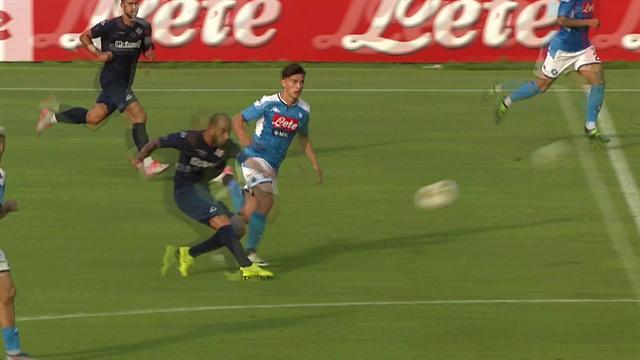 Soddimo sorprende Meret con un tiro da metà campo! Che favola il gol del 3-3 in Napoli-Cremonese