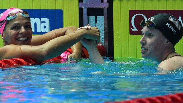 200m brasse : 2e titre d'affilée pour la Russe Efimova