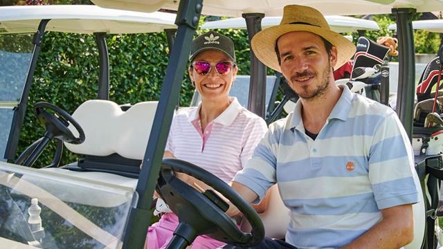 Peak Performer: Golf-Flight mit Neureuther & Neuner