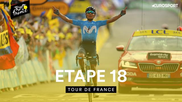 Quintana et Bernal transcendés, Alaphilippe toujours debout : Le résumé de la 18e étape