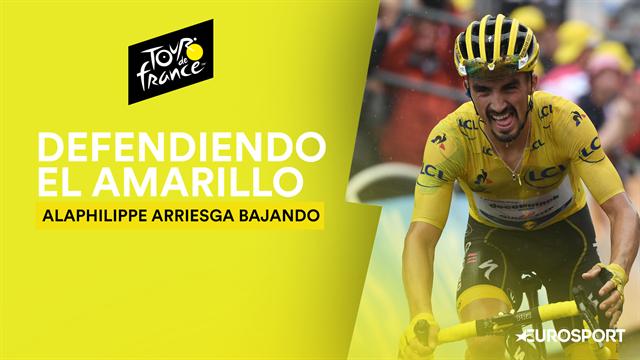 Tour de Francia 2019: Alaphilippe defiende el amarillo en un descenso al límite en el Galibier