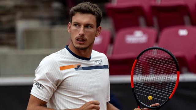 Pleno de victorias para los tenistas españoles: Andújar, Carreño, Bautista y Badosa
