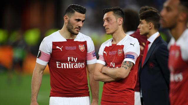 Arsenal leave out Ozil and Kolasinac due to 'further security incidents'