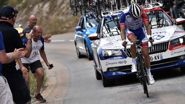 La raison de l'abandon de Pinot — Tour de France