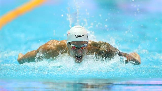 Dressel poursuit son show !