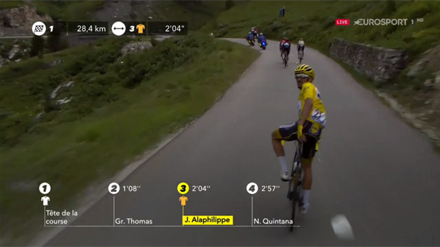 Watch furious Alaphilippe react as Stage 19 cancelled due to hail