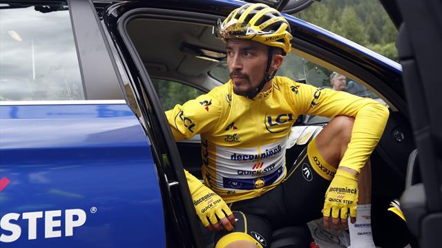 Tour-drama – etappen stoppet etter ekstremvær