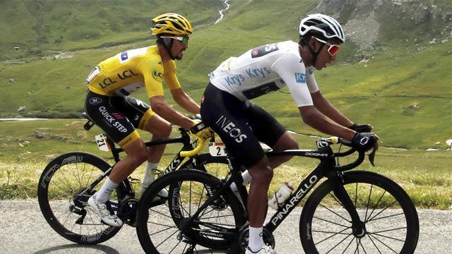 Tour de Francia 2019 (19ª etapa): Egan Bernal nuevo líder pese a la neutralización por tormenta