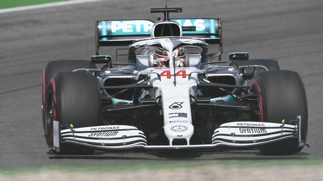 Gran Premio de Alemania: Ferrari le regala a Hamilton y Mercedes la pole en casa; Sainz, séptimo