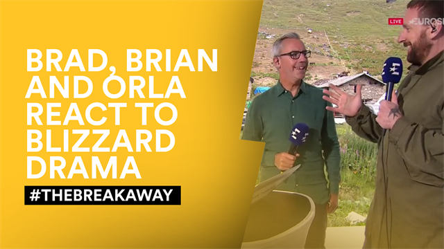 #TheBreakaway - 'The most dramatic of days as the weather-gods intervene'