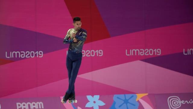 Los argentinos dominan en la primera fecha de patinaje artístico