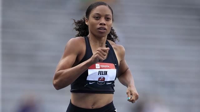 Felix says female athletes are united for change