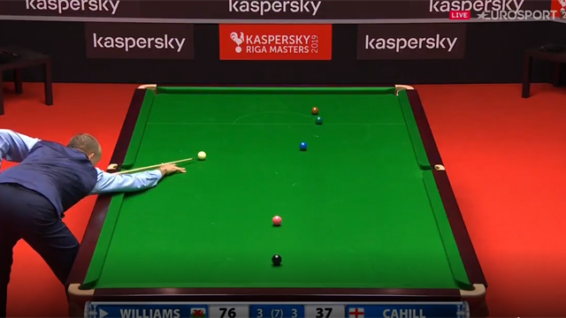 Mark Williams forgets he's on a century, doesn't play final black