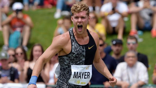 Mayer bat son record personnel sur 110 m haies