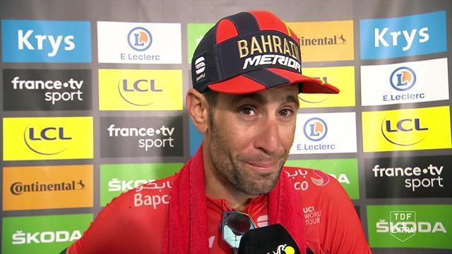 Nibali etter etappeseieren: – Det har vært en vanskelig Tour for meg