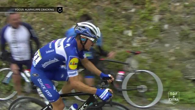 Il crollo di Alaphilippe: il francese perde ancora terreno e scende giù dal podio del Tour