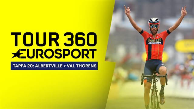 """""""Tour 360"""", tappa 20: Prima profilo basso, poi il morso dello squalo Vincenzo Nibali sulle Alpi!"""